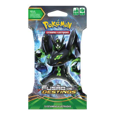 Deck Pokémon - Blister Unitário - XY10 - Fusão de Destinos - Zygarde - Copag