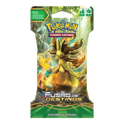 Deck Pokémon - Blister Unitário - XY10 - Fusão de Destinos - Delphox Break - Copag