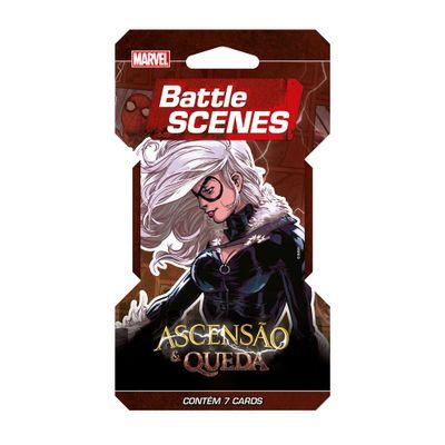 Deck Battle Scenes - Blister Unitário - Marvel - Ascensão e Queda - Gata Negra - Copag