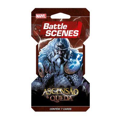 Deck Battle Scenes - Blister Unitário - Marvel - Ascensão e Queda - Odin - Copag