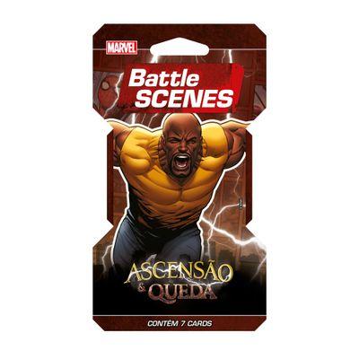 Deck Battle Scenes - Blister Unitário - Marvel - Ascensão e Queda - Luke Cage - Copag