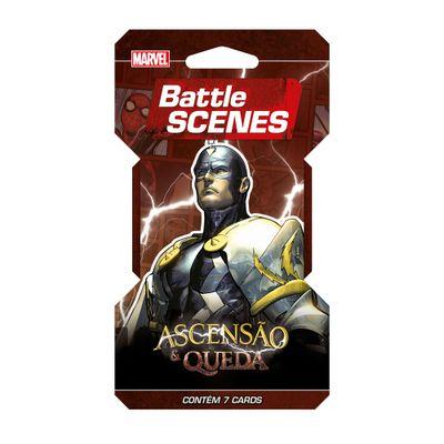 Deck Battle Scenes - Blister Unitário - Marvel - Ascensão e Queda - Imperador Raio Negro - Copag
