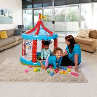 Circo-Inflavel-Com-Bolinhas---Fisher-Price