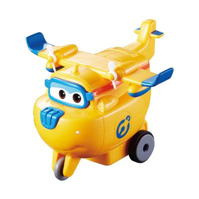 Figura de Avião - Vrom N Zoom - Super Wings - Donnie - Fun