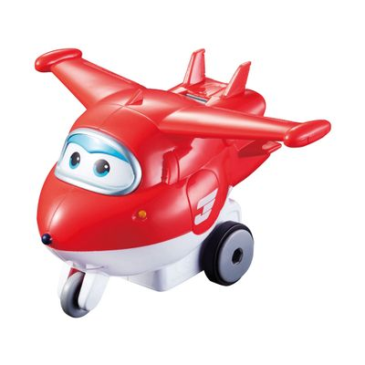 Figura de Avião - Vrom N Zoom - Super Wings - Jett - Fun