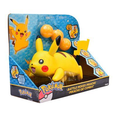 Pokémon Lançador de Bolas - Pikachu - Tomy