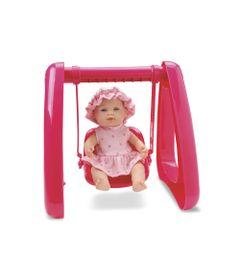 Boneca---Micro-Bebe-Mania---Balanco---Pink---Roma-Jensen-5356-frente