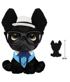 Pelucia-Perfumada---Trend-Dog---G---20-cm---Preto---Fun