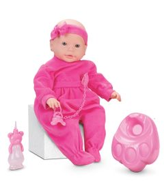Boneca-Bebe-Mania-Xixi---Macaquinho-Rosa---Roma-Jensen