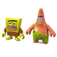 Mini-Figuras-Bob-Esponja---Bob-Esponja-e-Patrick-das-Cavernas---Fisher-Price-1