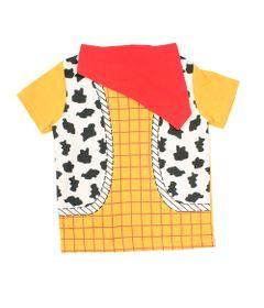 Camiseta-Fantasia-Manga-Curta---Amarela-Branca-e-Vermelha---Woody---Toy-Story---Disney---1