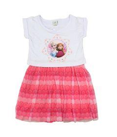 Vestido-Manga-Curta-em-Meia-Malha-com-Tule---Rosa---Frozen---Disney---1