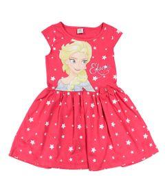 Vestido-Manga-Curta-em-Meia-Malha-com-Saia-de-Tule---Rosa---Frozen---Disney---1