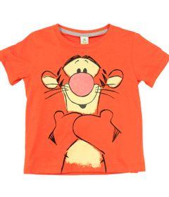 Camiseta-Manga-Curta-em-Meia-Malha---Laranja---Tigrao---Winnie-The-Pooh---Disney---1