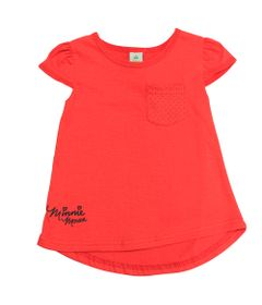Camiseta-Manga-Curta---Vermelha---Minnie---Disney---P