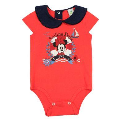 Body-Manga-Curta-em-Cotton---Vermelho-e-Marinho---Minnie-Navy---Disney---P