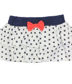 Saia-com-Calcinha-em-Cotton---Branca-Marinho-e-Vermelha---Minnie-Navy---Disney---P