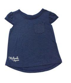 Camiseta-Manga-Curta---Marinho---Minnie---Disney---P