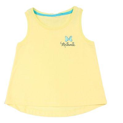 Blusa Regata - Amarela - Minnie - Disney