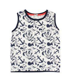 Camiseta-Machao-em-Meia-Malha---Branco-e-Marinho---Mickey-Navy---Disney---1