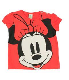 Blusa-Manga-Curta-em-Meia-Malha---Vermelha---Minnie---Disney---M
