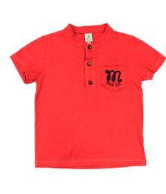 Camiseta-Manga-Curta-em-Meia-Malha-Flame---Vermelho---Mickey-Navy---Disney---2