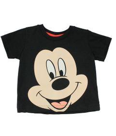 Camiseta-em-Meia-Malha---Preta---Mickey---Disney---M