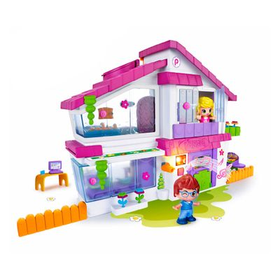 Playset Casinha com Luzes e Sons - Pinypon - Multikids