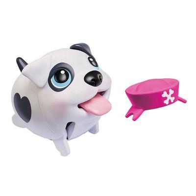 Figura Articulada Com Acessório - 11 cm - Au Au Pets e Filhotes - Bulldog - Multikids