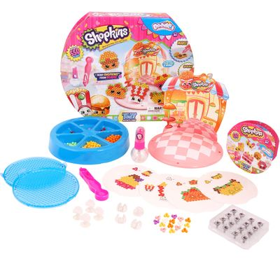 Conjunto de Artes - Beados Shopkins - Fast Food Dinner - Multikids