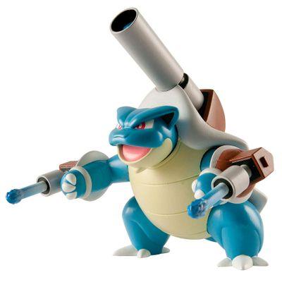 Figura Pokémon - 17 cm - Mega Blastoise - Tomy
