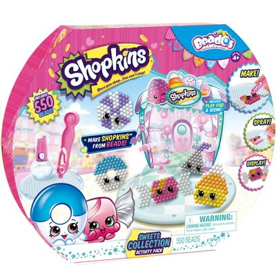 Conjunto de Artes - Beados Shopkins - Sweets Collection - Multikids