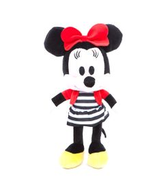Pelucia-Personagens-Disney---25-CM---Mickey-Mouse-Clubhouse---Minnie-Vestido-Listrado---Estrela