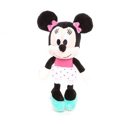 Pelúcia Personagens Disney - 25 CM - Mickey Mouse Clubhouse - Minnie Vestido Rosa - Estrela