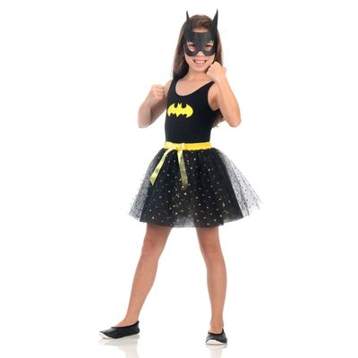 Fantasia Infantil - Dress Up - DC Comics - Batgirl - Sulamericana