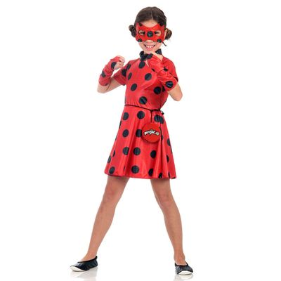 Fantasia Infantil - Miraculous - Vestido Ladybug - Sulamericana