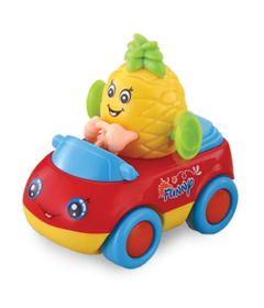 Mini-Veiculo---Carrinho-Hora-de-Brincar---Frutas-Divertidas---Abacaxi---Dican