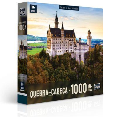 Quebra-Cabeça - 1000 Peças - Castelo de Neuschwanstein - Toyster