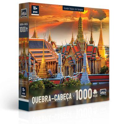 Quebra-Cabeça - 1000 Peças - Grande Palácio de Bangkok - Toyster