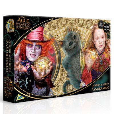 Quebra-Cabeça - 250 Peças - Disney - Alice no País das Maravilhas - Toyster