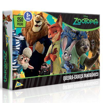 Quebra-Cabeca---250-Pecas---Disney---Zootopia---Toyster