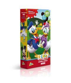 Quebra-Cabeca-Mini---60-Pecas---Disney---A-Casa-do-Mickey-Mouse---Pato-Donald-e-Margarida---Toyster