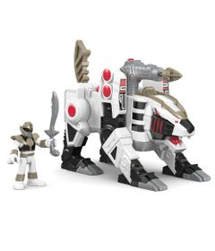 Figura-Mighty-Morphin-Power-Rangers---Zord-Rangers---Ranger-Branco-e-Tigerzord---Fisher-Price