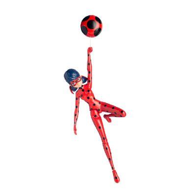 Figura Articulada com Io-Iô - 20 cm - Miraculous As Aventuras de Ladybug - Ladybug - Sunny