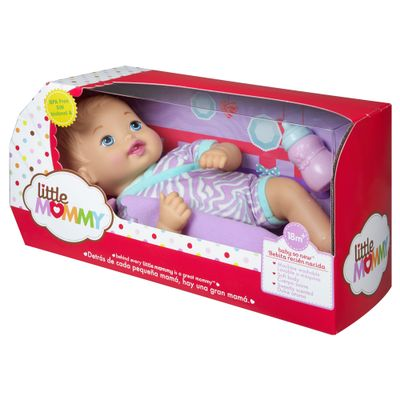 Boneca Bebê - My Little Mommy - Recém Nascido - Roupinha Roxa - Mattel