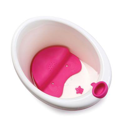 Banheira Com Assento - Bubbles - Rosa - Dorel