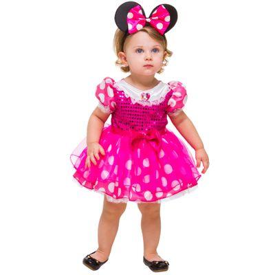Fantasia Baby - Minnie - Rosa - Disney - Rubies