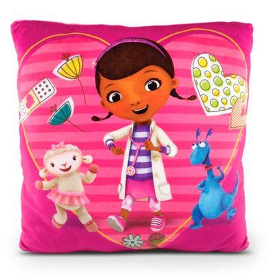 Almofada Estampada 30x30 Cm - Disney - Doutora Brinquedos - DTC