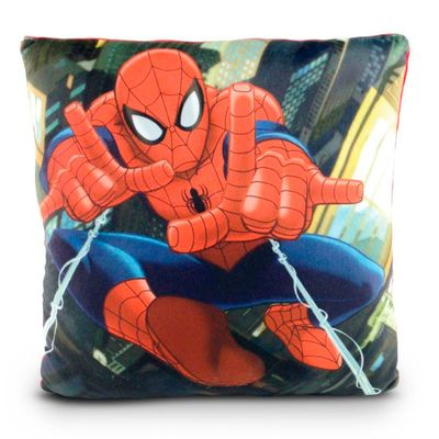 Almofada Estampada 30x30 Cm - Disney - Marvel - Spider-Man - DTC