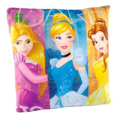 Almofada Estampada 30x30 Cm - Disney - Princesas Disney - DTC